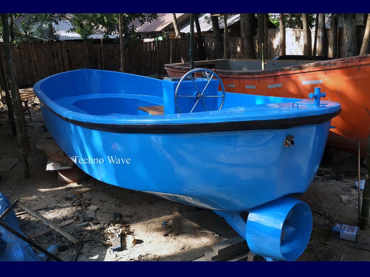 Sloep Boat Fiberglass